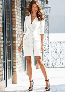 VENUS šaty Coat Dress