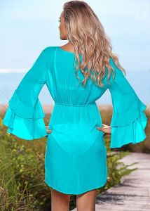 VENUS plážové šaty FLIRTY BELL SLEEVE TUNIC