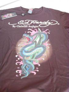 Ed Hardy pánské tričko Snake