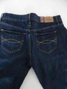 Abercrombie and Fitch džíny Emma Jeans