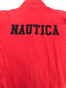 NAUTICA mikina Red
