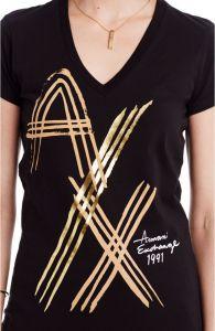 Armani Exchange tričko Logo Stroke A|X Tee