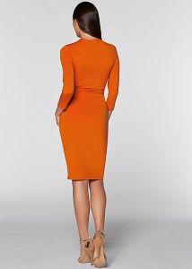 VENUS šaty Side Ruffle Dress