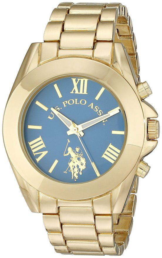 U.S.Polo Assn hodinky USC40048 Gold Watch U.S. Polo Assn.