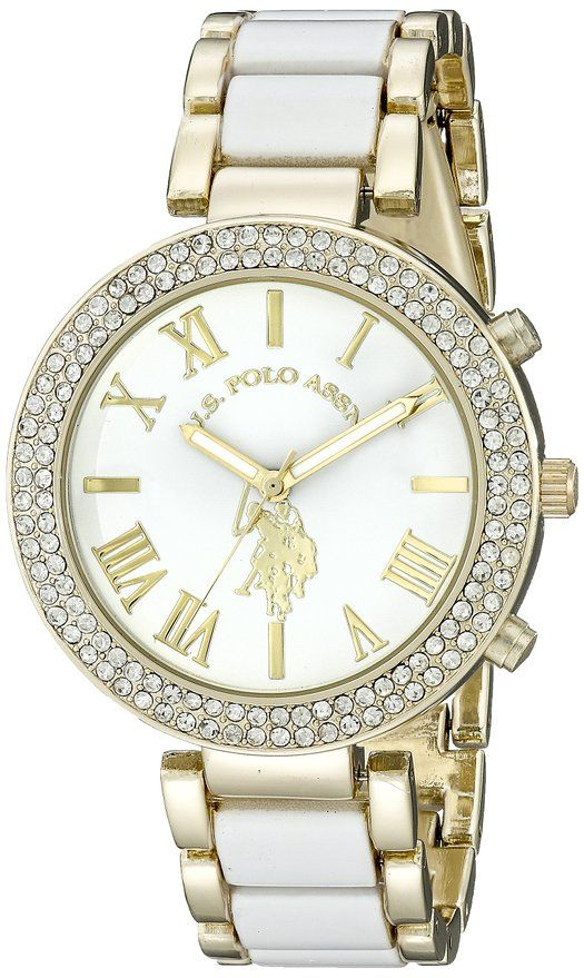 U.S.Polo Assn hodinky USC40065 Two Tone Watch U.S. Polo Assn.