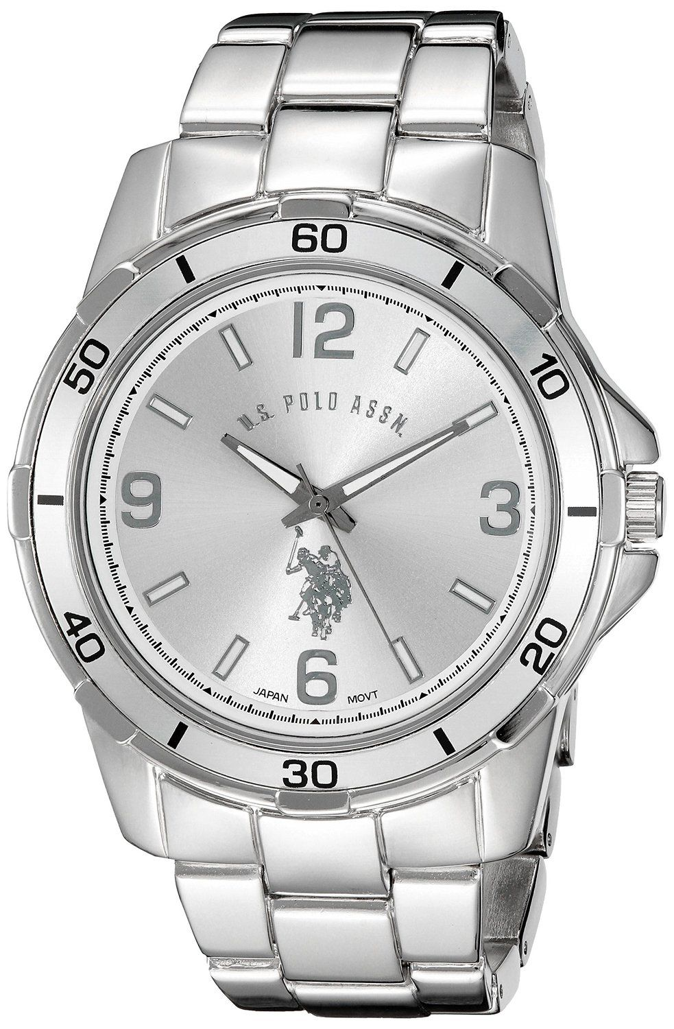 U.S.Polo Assn hodinky USC80296 Silver Watch U.S. Polo Assn.