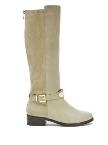 GUESS kozačky Haylee Logo Plaque Ridings Boots