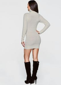 VENUS šaty TURTLENECK SWEATER DRESS