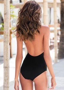 VENUS plavky BARE BACK ONE-PIECE černá
