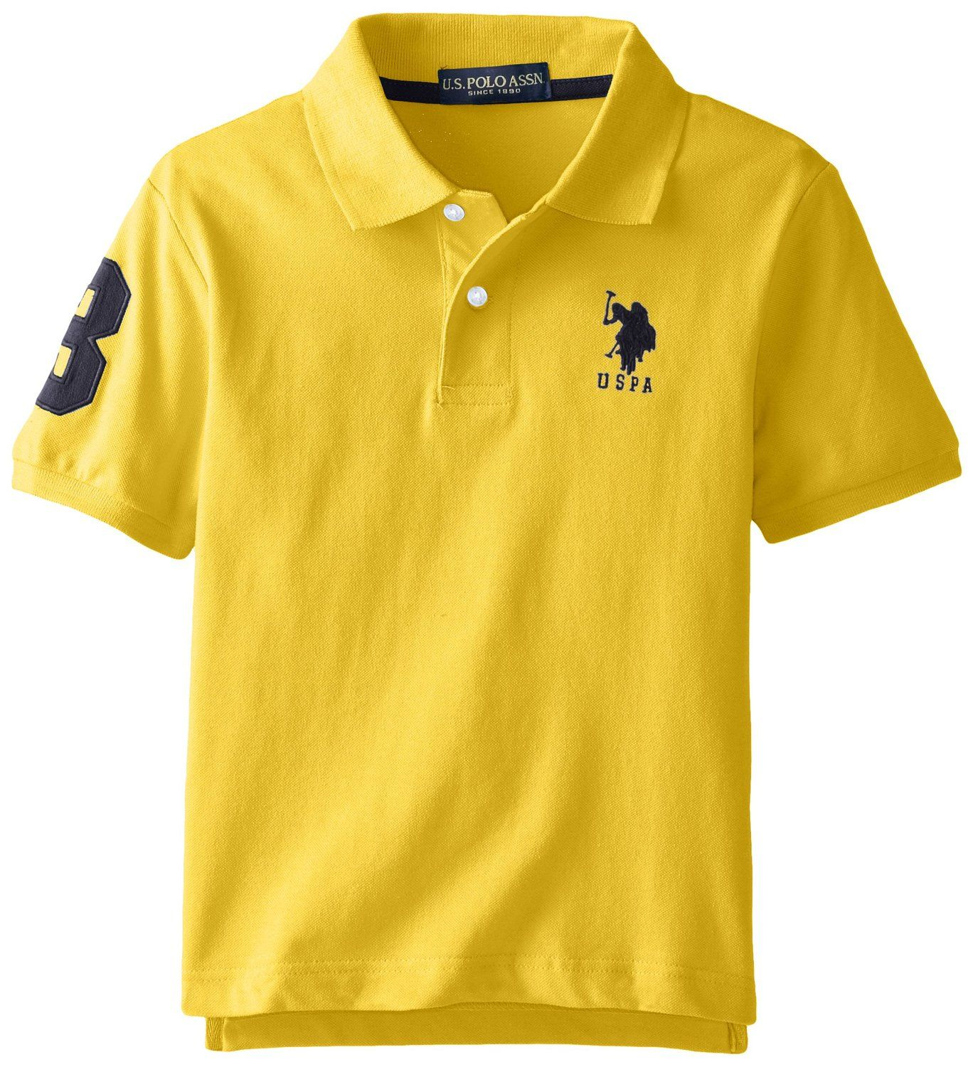U.S. Polo Assn. polo tričko Sleeve Solid Pique Polo