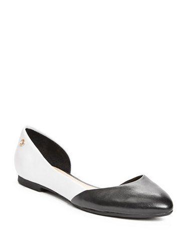 GUESS dámské balerínky Ginny D'orsay Flats černá