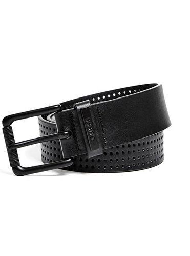 GUESS pásek Perforated Belt černá