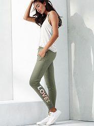 Victoria's Secret dámské tepláky Jogger