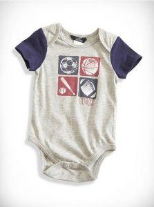 GUESS oblečení pro miminko Champ Bodysuits Set šedo modrá