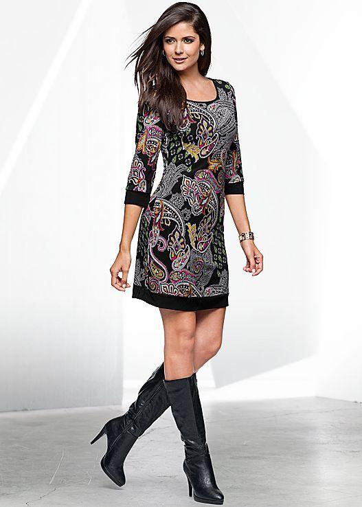 VENUS šaty PAISLEY PRINTED DRESS