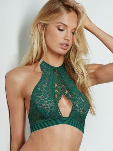 Victoria's Secret podprsenka Keyhole High-neck Bra