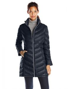 Calvin Klein dámská bunda Chevron-Quilted