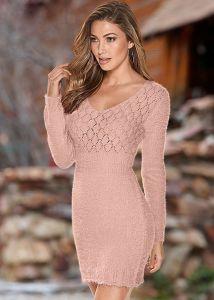 VENUS dámské šaty COZY SWEATER