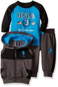 U.S. Polo Assn. oblečení pro miminko Wide Stripe