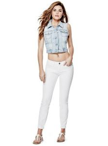 GUESS džíny Cindy Power Skinny Jeans