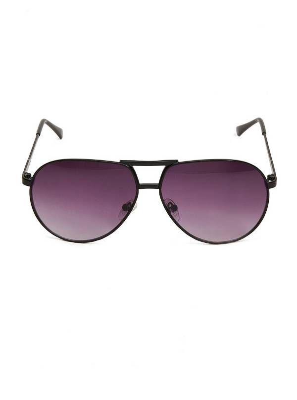 GUESS pánské sluneční brýle Metal Retro Aviator černá