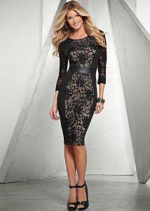 VENUS dámské šaty LACE DETAILED