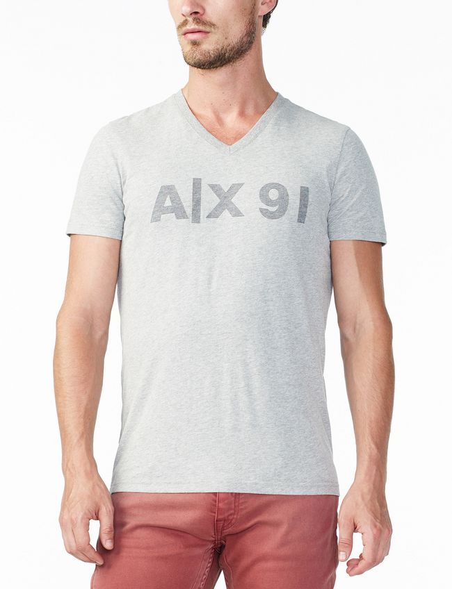 Armani Exchange tričko AX91 V-NECK
