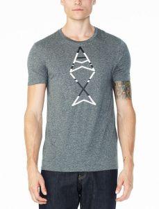 Armani Exchange pánské tričko  FISH LOGO