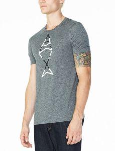 Armani Exchange tričko FISH LOGO CREW