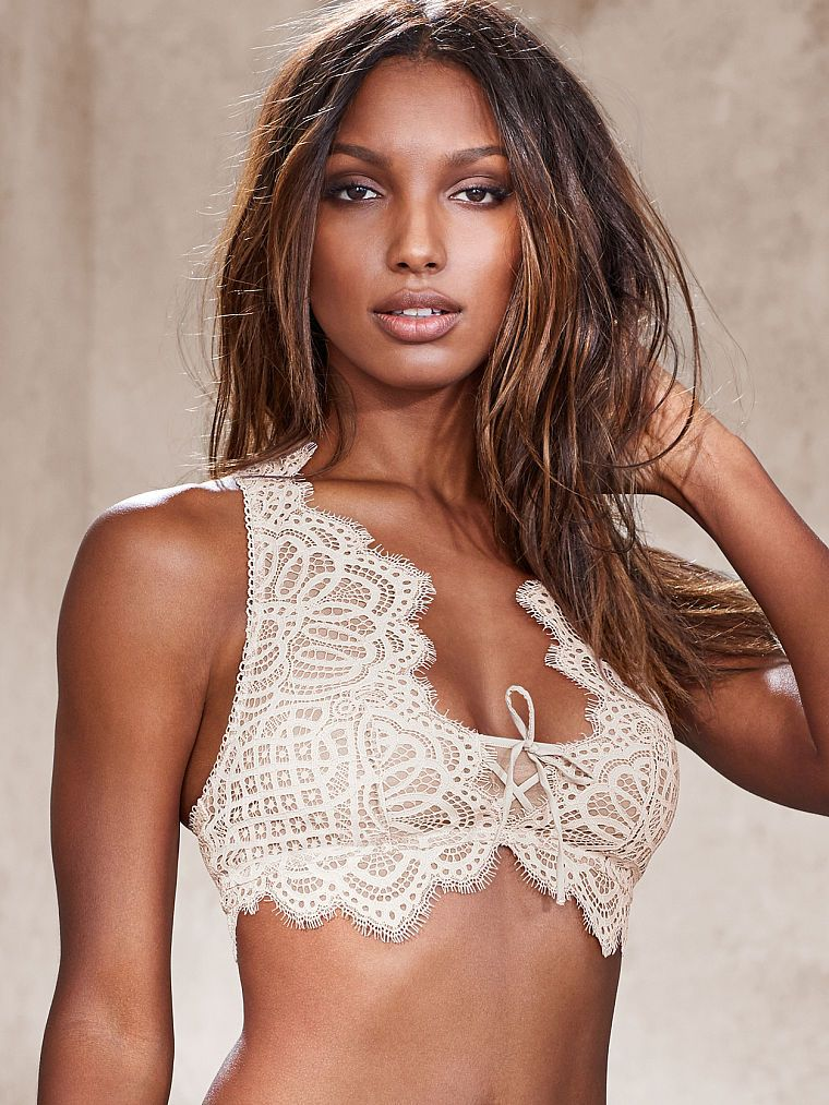 Victoria's Secret podprsenka The Laced-Up Bralette