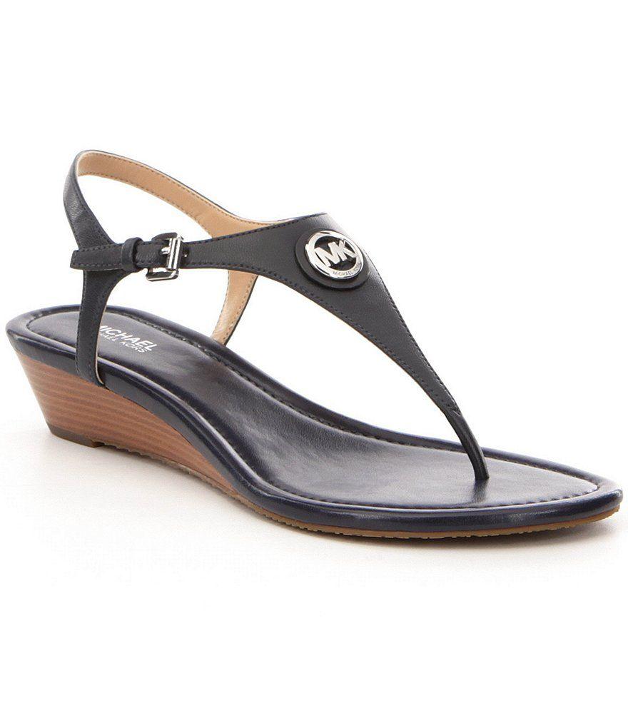 Michael Kors žabky, sandálky Ramona Wedge Sandals