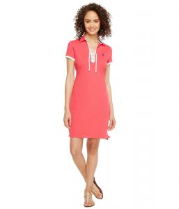 U.S. Polo Assn dámské šaty Lace Up