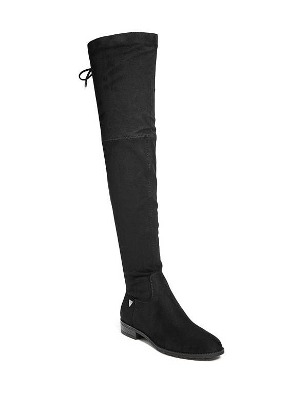 GUESS boty Shellie Over-The-Knee Boots černá