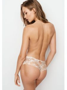 Victoria´s Secret dámská tanga Lace & Dot Mesh