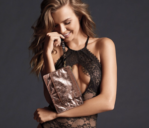 Victoria's Secret dámská taštička  Rose Gold Clutch