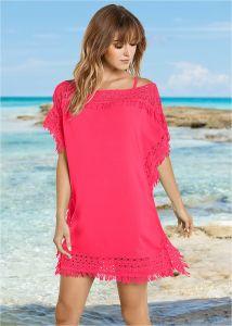 VENUS dámské plážové šaty  CROCHET