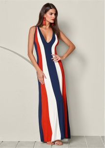 VENUS dámské šaty COLOR BLOCK