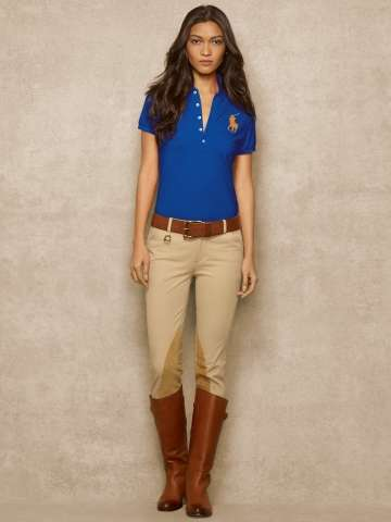 Ralph Lauren dámské polo tričko Big Pony Pima Stretch Polo