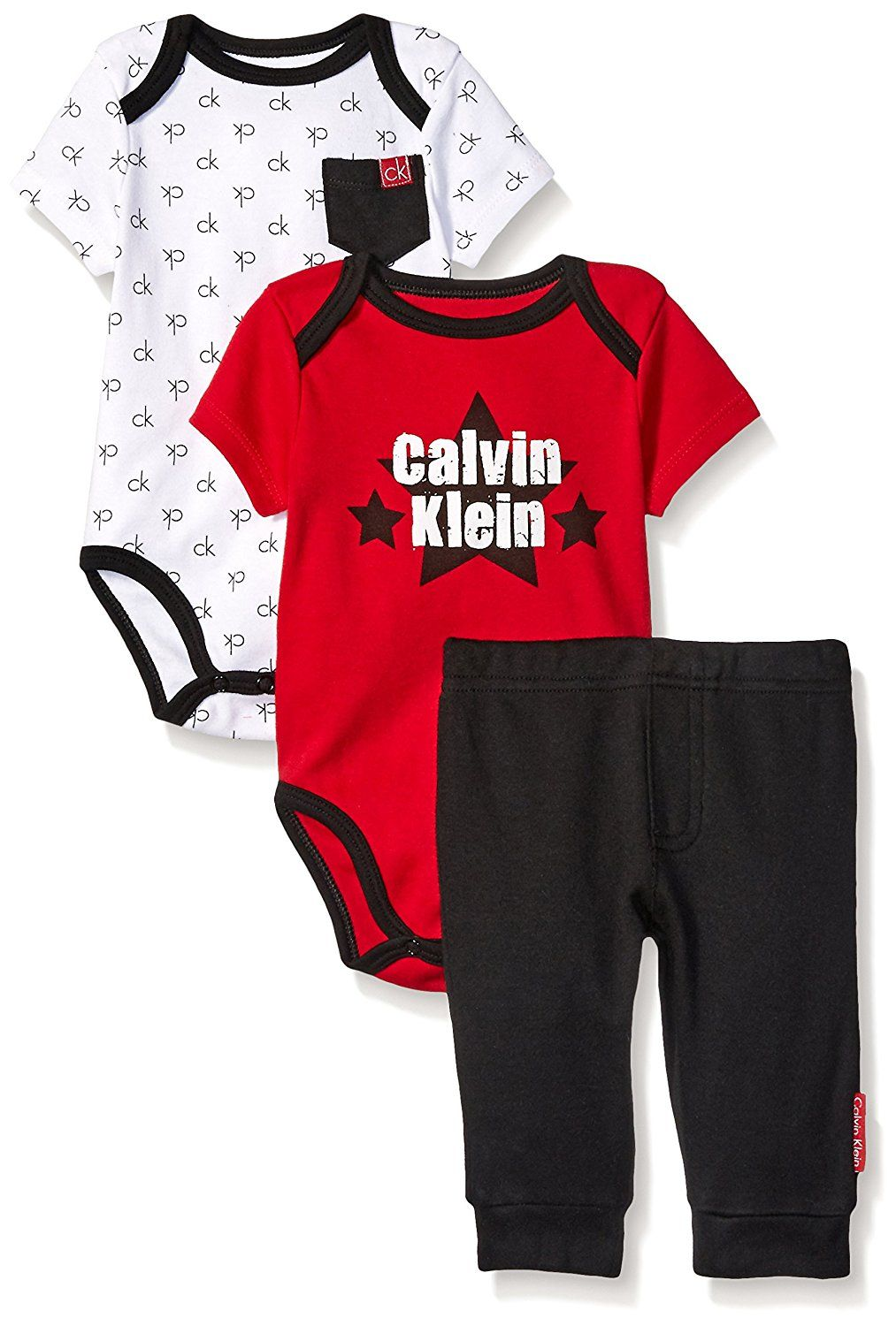 Calvin Klein set kalhot a bodýček Two Bodysuits with Pants