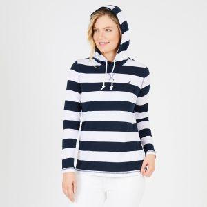 Nautica dámská mikina Long Sleeve Striped