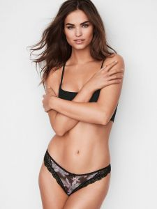 Victoria´s Secret dámská tanga Lace-trim