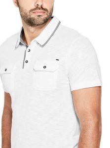 GUESS polo tričko Tristan Slub Polo
