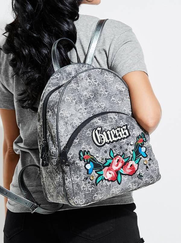 GUESS batoh Badlands Denim Backpack