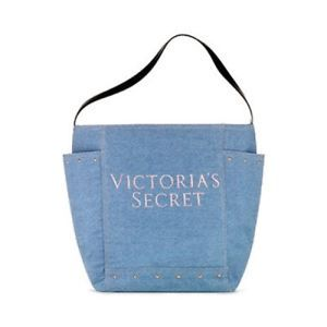 Victoria Secret taška Denim tote Victoria's Secret
