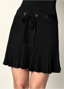 VENUS šaty Pleated sweater dress