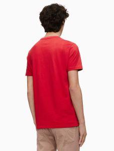 Calvin Klein tričko Monogram logo block crewneck t-shirt