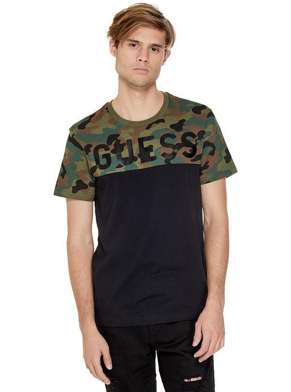 GUESS tričko Rendor Logo Tee