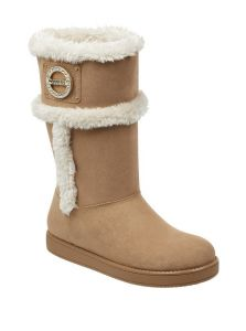 GUESS boty Ailey Faux-Fur Boots