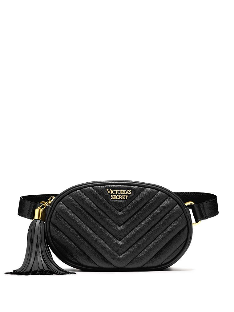 Victoria Secret ledvinka V-Quilt Oval City Belt Bag Victoria's Secret