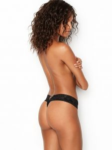 Victoria Secret dámská tanga Lace-up Thong Panty